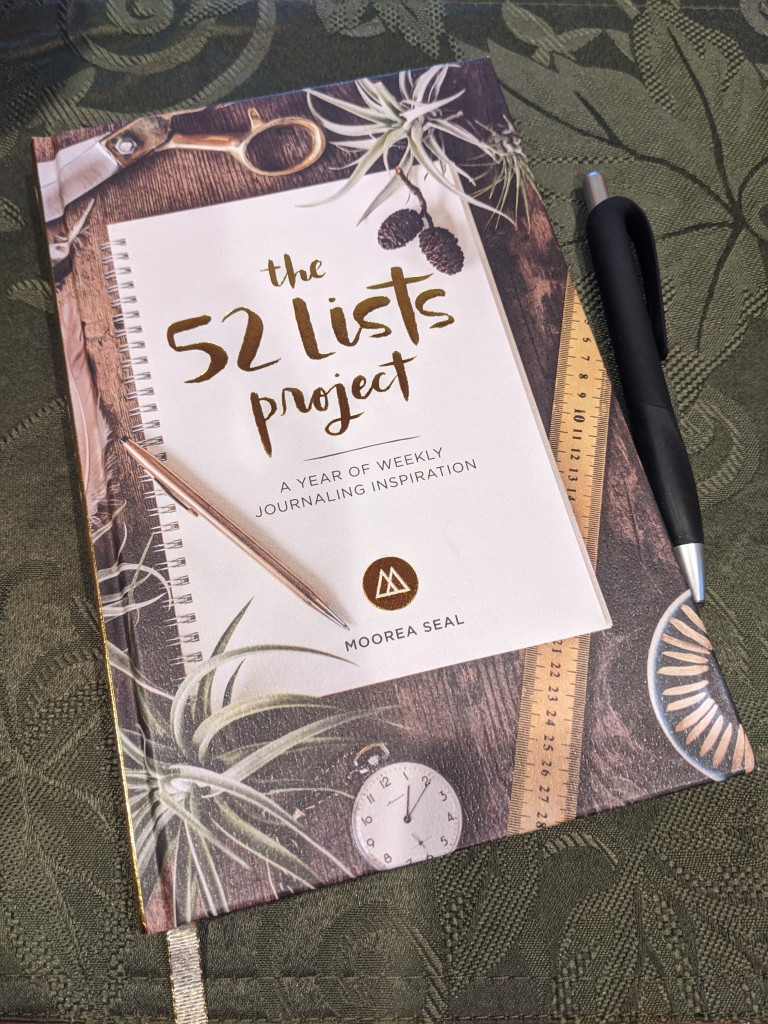 The 52 Lists Projects is a year of weekly journaling inspiration by Moorea Seal.